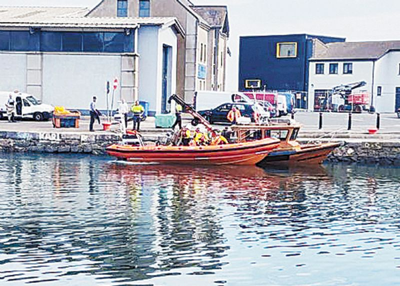 RNLI come to the rescue after boat takes in water