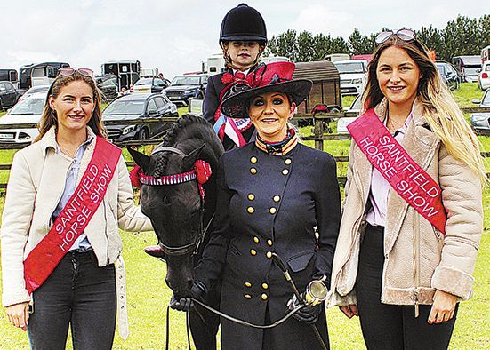 Fabulous atmosphere at popular equestrian show