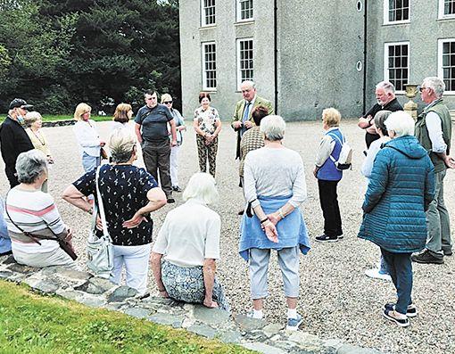 U3A members visit Finnebrogue House