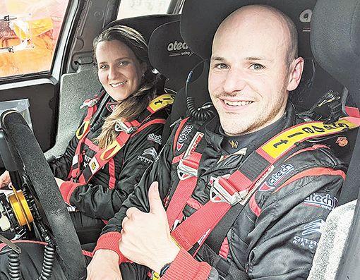 Racer Greer hits top gear