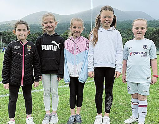 Soccer fun at Tollymore