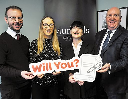 Downpatrick solicitors donating fees to charity