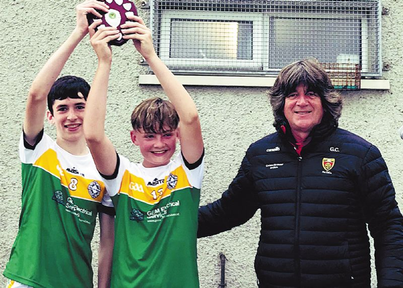 Bac an Doire are crowned East Down champions