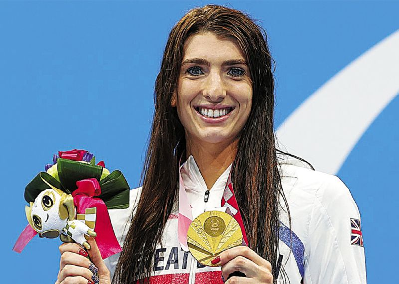 Bethany collects four medals at Tokyo games