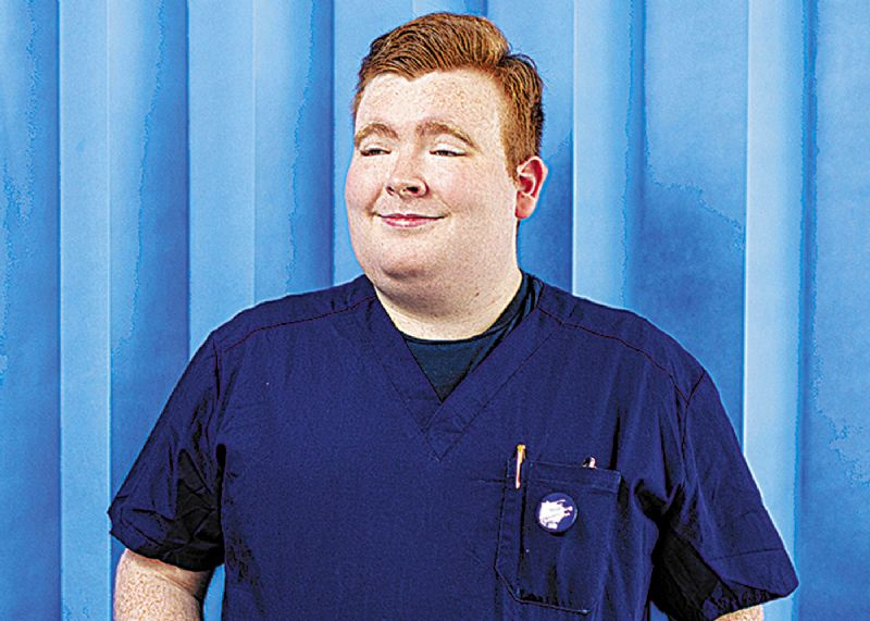 James is finalist for nurse of the year