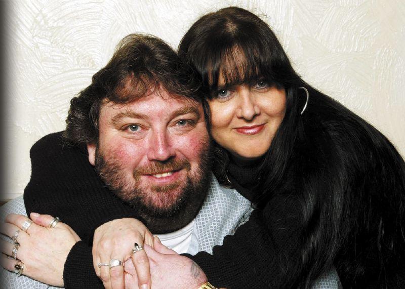 Castlewellan widow's love for darts legend Andy Fordham